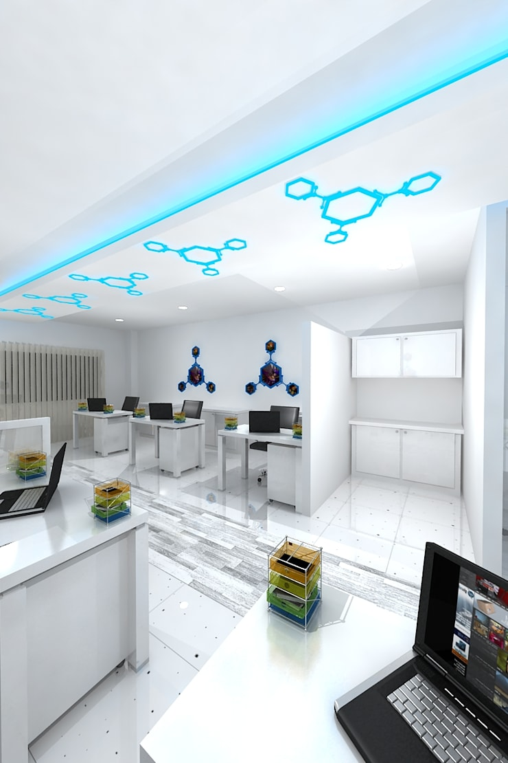Office design:  Offices & stores by Gurooji Design