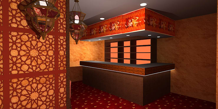 Saakhi Night Club:  Bars & clubs by Gurooji Design