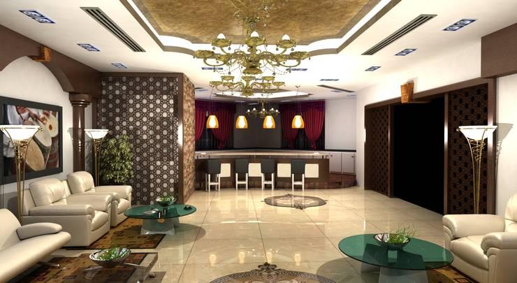 غرفة السفرة تنفيذ Gurooji Design