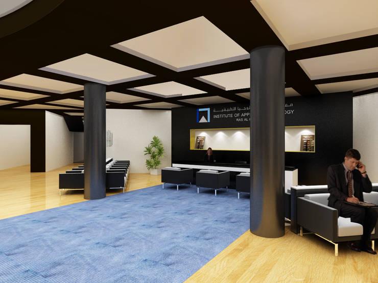 IAT Entrance Lobby:  Schools by Gurooji Design
