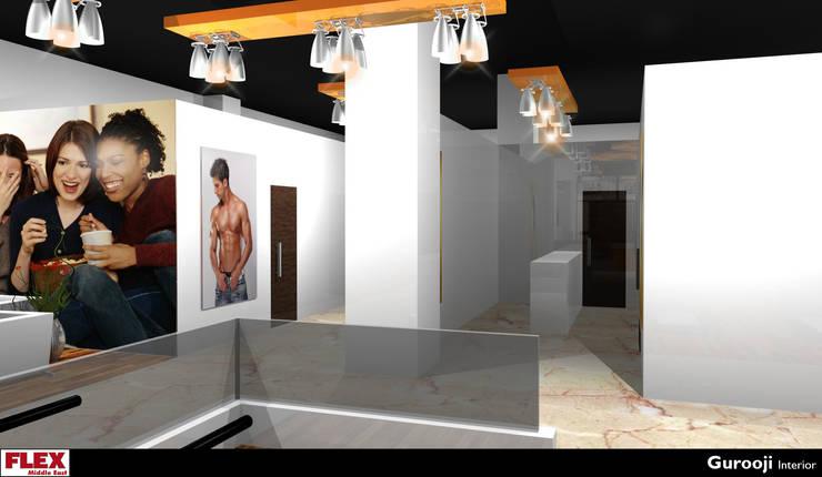 RAK Gym:  Commercial Spaces by Gurooji Designs