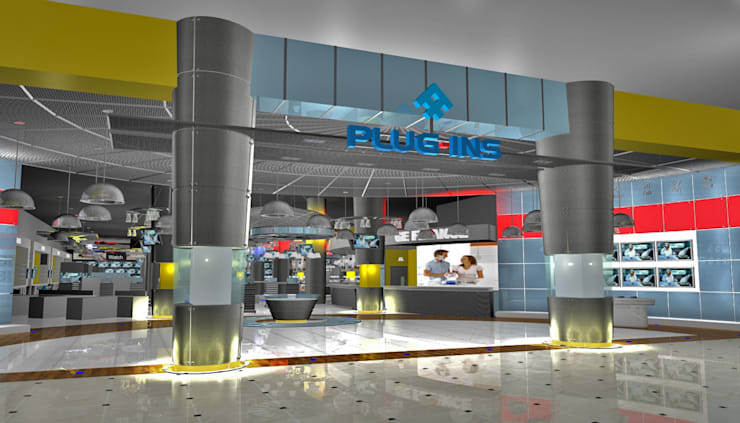 Pluginns Store:  Commercial Spaces by Gurooji Designs,Modern