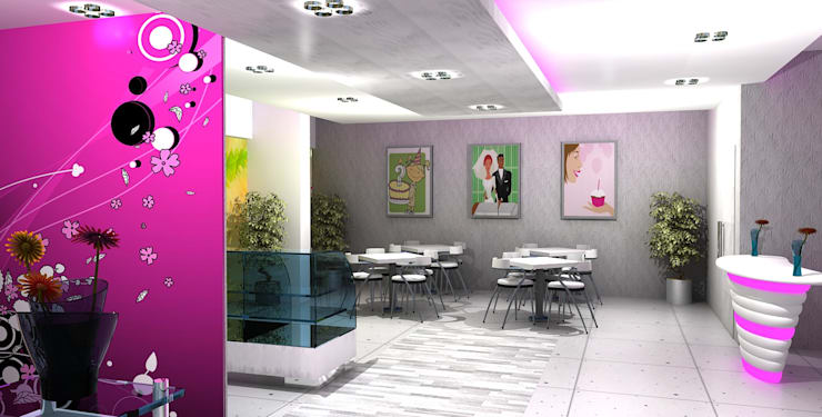 Najla Spa:  Commercial Spaces by Gurooji Designs,