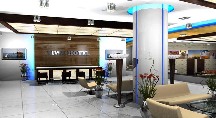 Liwa Hotel:  Hotels by Gurooji Designs,Modern