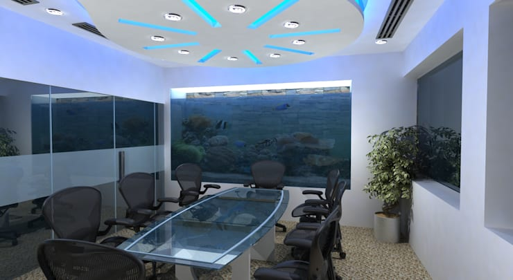 ICLP Meeting Room:  Offices & stores by Gurooji Design