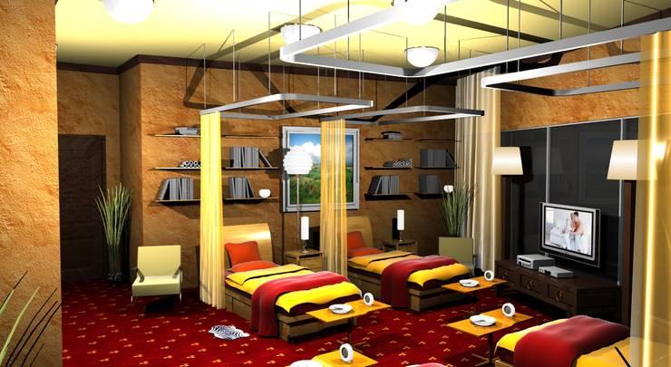 Police Club:  Hotels by Gurooji Design