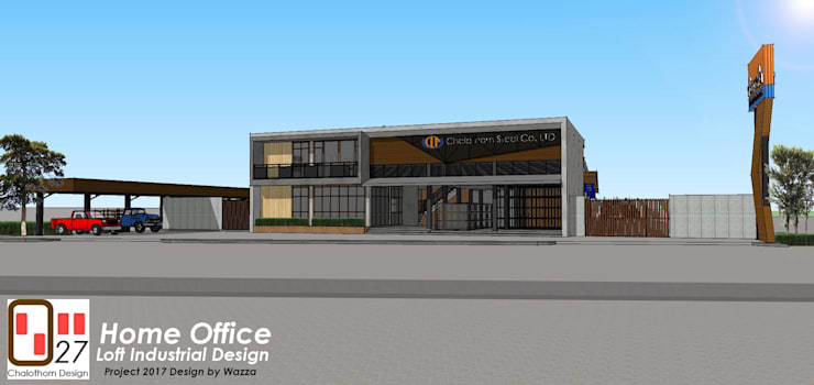ผลงานของบริษัท:   by OSMOSIS Architectural Design