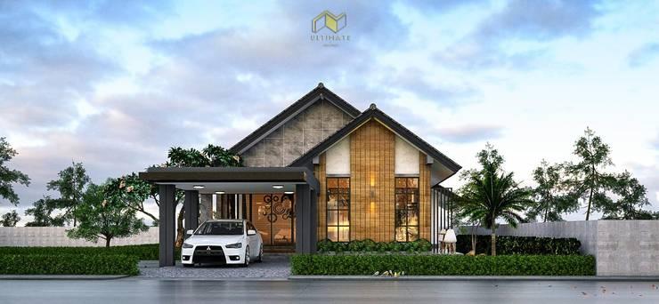 ผลงานของบริษัท:   by Ultimate Architect รับออกแบบบ้าน