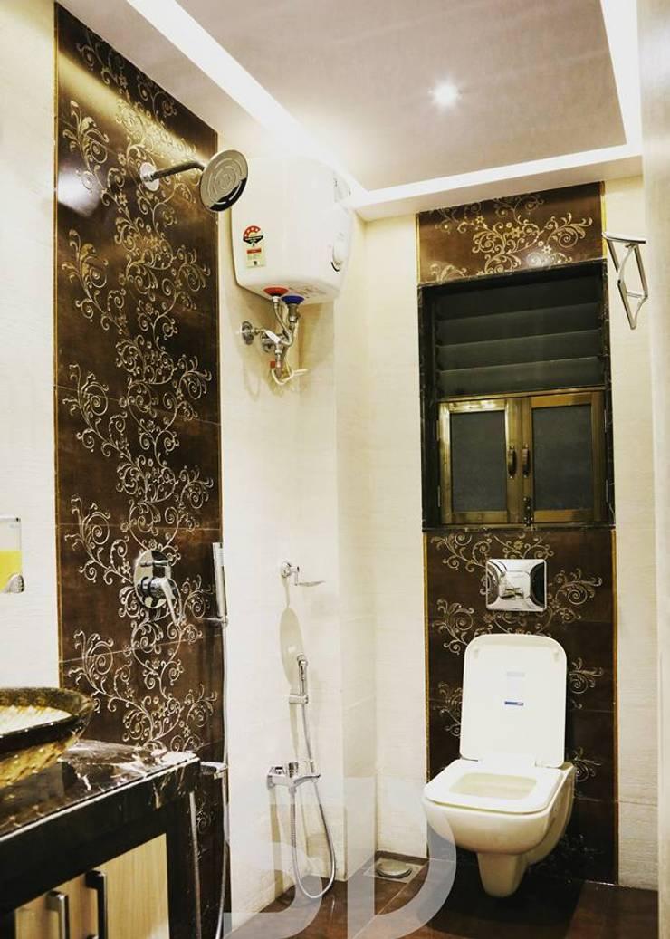 Master Bathroom:  Bathroom by SUMEDHRUVI DESIGN STUDIO