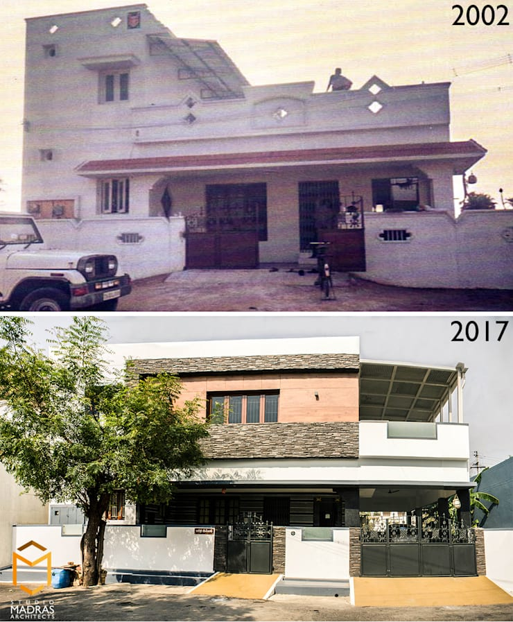 Before - After:   by Studio Madras Architects,