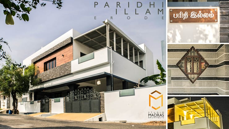 Closer look:  Houses by Studio Madras Architects,