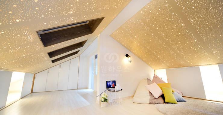 غرفة نوم تنفيذ 코원하우스