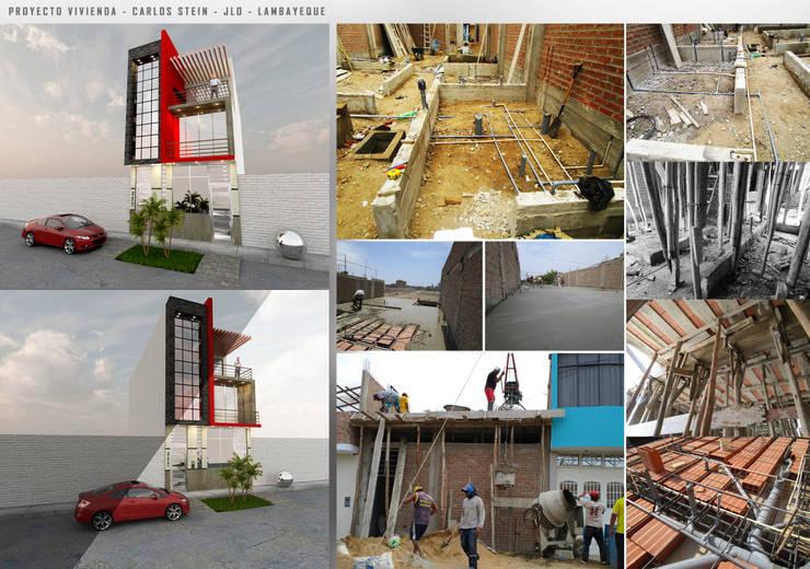VIVIENDA UNIFAMILIAR - CHICLAYO: Hogar de estilo  por CN y Arquitectos
