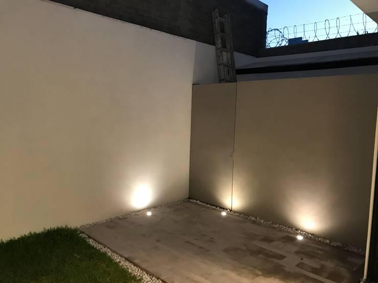 Terraza: Jardines de estilo  por Alfagrama estudio