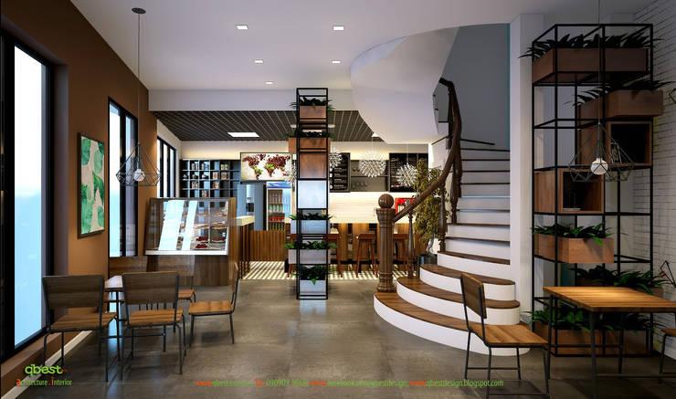 Không gian:  Kitchen by Công ty TNHH Thiết Kế và Ứng Dụng QBEST