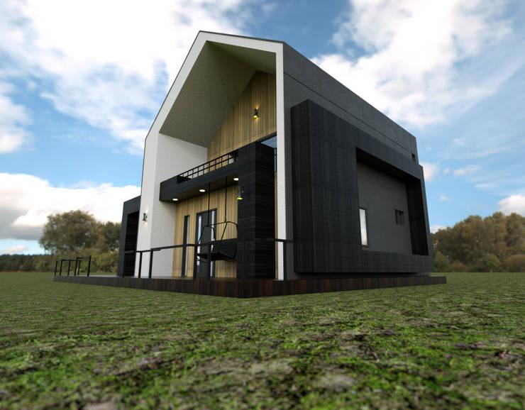 보령전원주택: 디자인 이업의  주택,모던