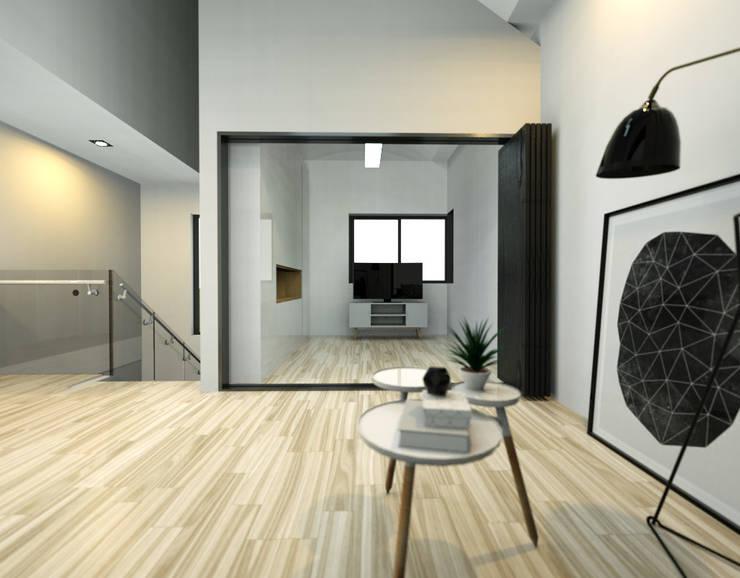 보령전원주택: 디자인 이업의  방,모던