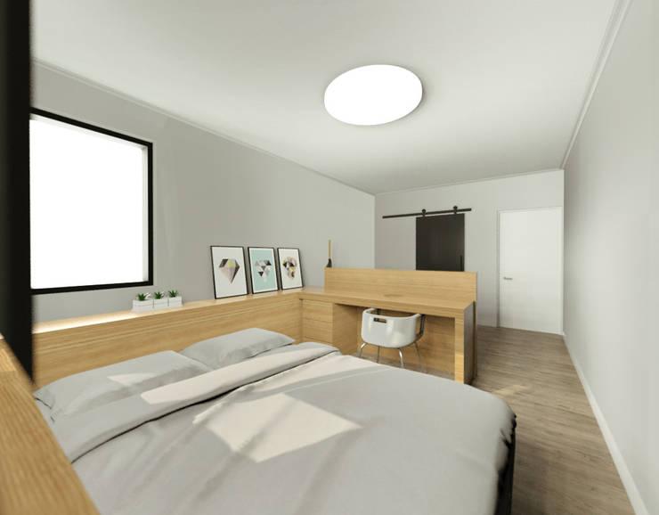 이천시 덕평 전원주택: 디자인 이업의  방