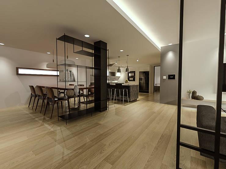 Cocinas de estilo  de 디자인 이업, Moderno