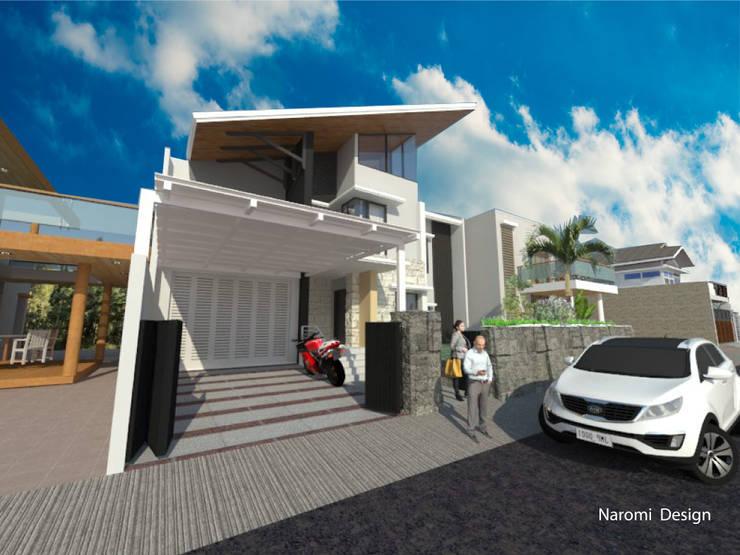 Renders Fachadas:  de estilo  por Naromi  Design