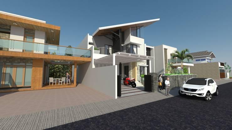 fachadas :  de estilo  por Naromi  Design