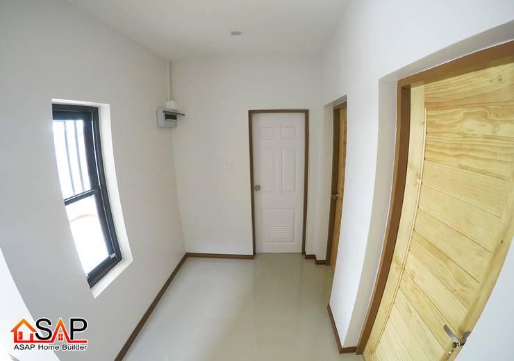 ASAP P14 บ้านชั้นเดี่ยว 2 ชั้น 4 ห้องนอน 3 ห้องน้ำ:  บ้านและที่อยู่อาศัย by Asap Home Builder