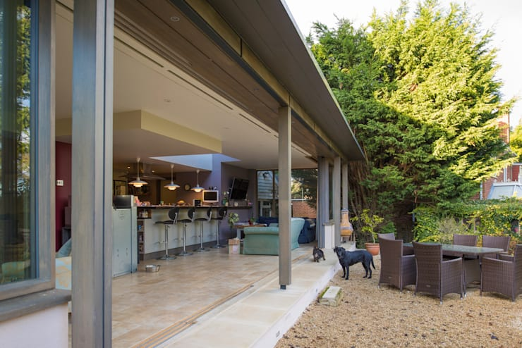 Casas de estilo  por Jack Jarrett Architects
