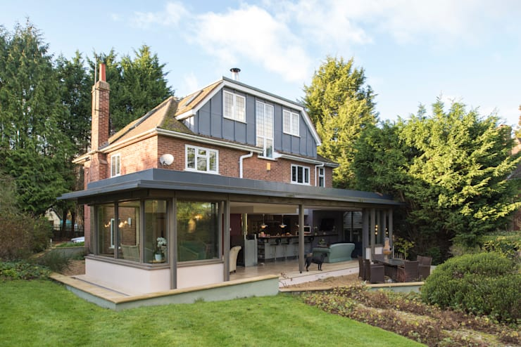 Casas de estilo moderno por Jack Jarrett Architects