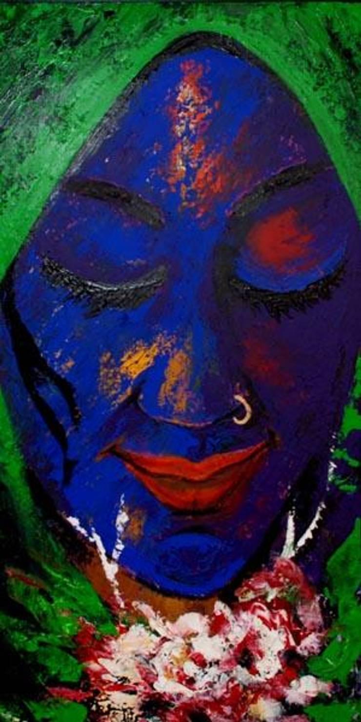 My monaliza:  Artwork by Indian Art Ideas