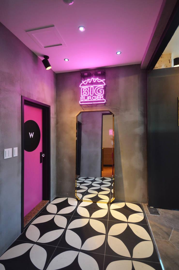 거제 빅버거 - 상업 인테리어 : 보노야디자인의  레스토랑