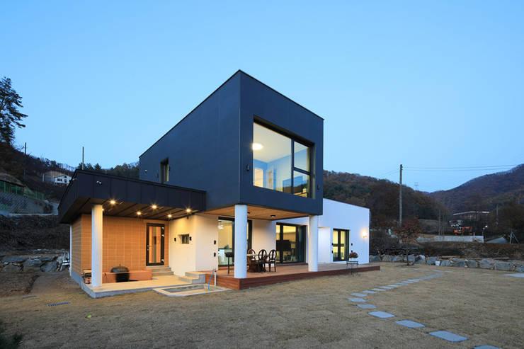 양평 지음재 : 공감로하 건축사사무소의  주택