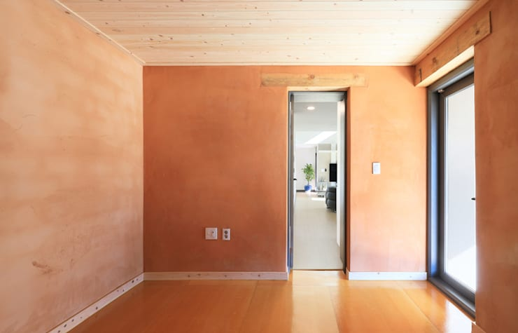 양평 지음재 : 공감로하 건축사사무소의  거실