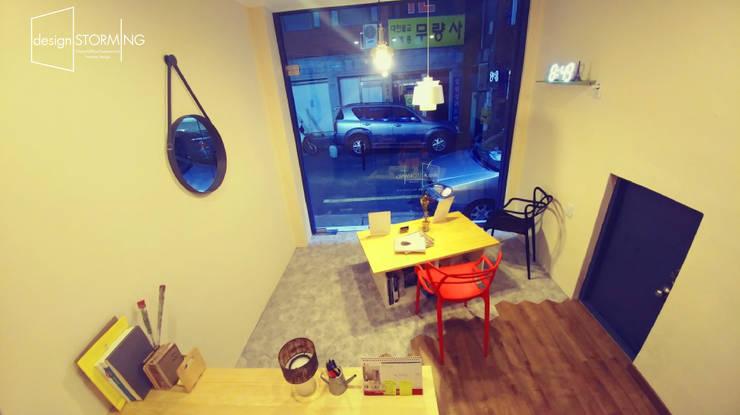 디자인 스토밍 사무실 - office 인테리어: design STORMING의  사무실