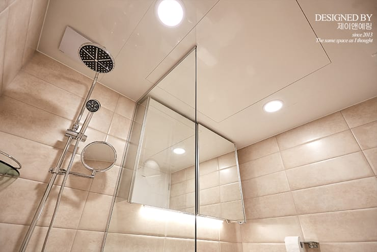 bathroom: 제이앤예림design의  욕실