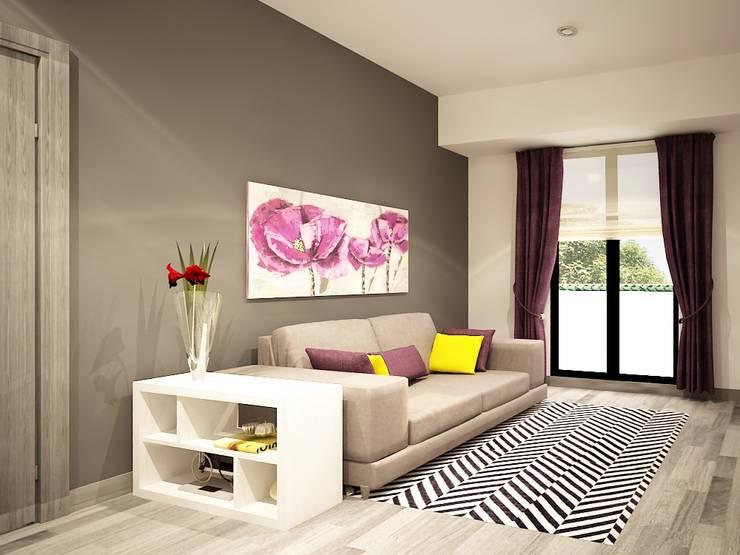 غرفة المعيشة تنفيذ Zono Interieur