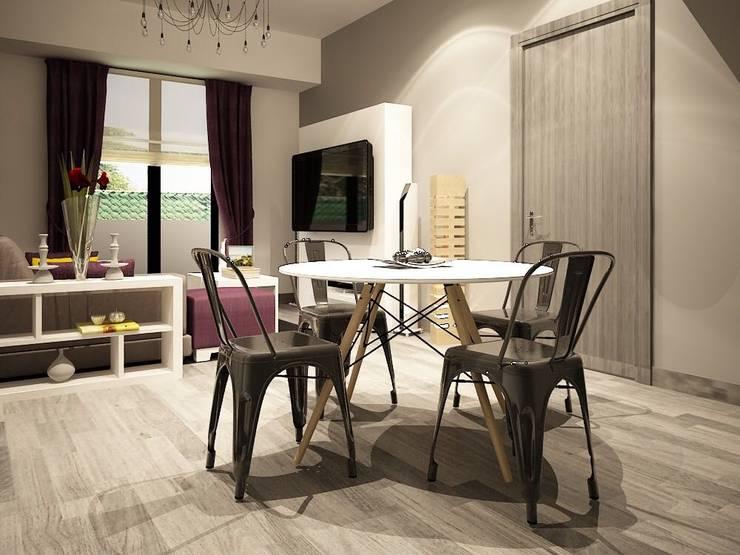 Diseño de comedores: Comedores de estilo  por Zono Interieur