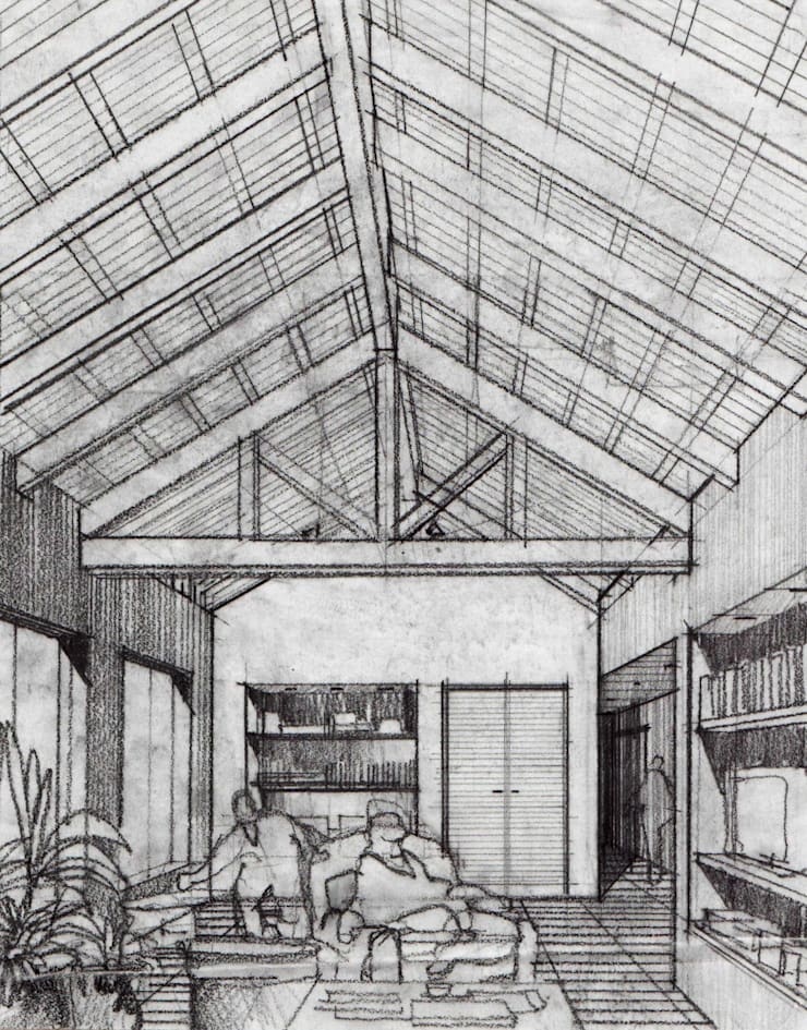 Casa GL:  de estilo  por Development Architectural group