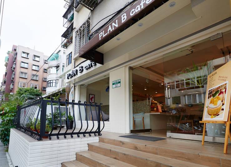 其實維持乾淨可愛的調性並不難:  餐廳 by 弘悅國際室內裝修有限公司