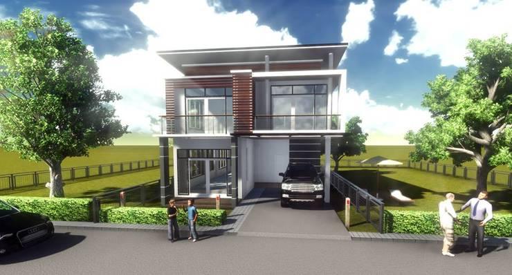 เรียบง่าย modern:   by FULL HOUSE Design