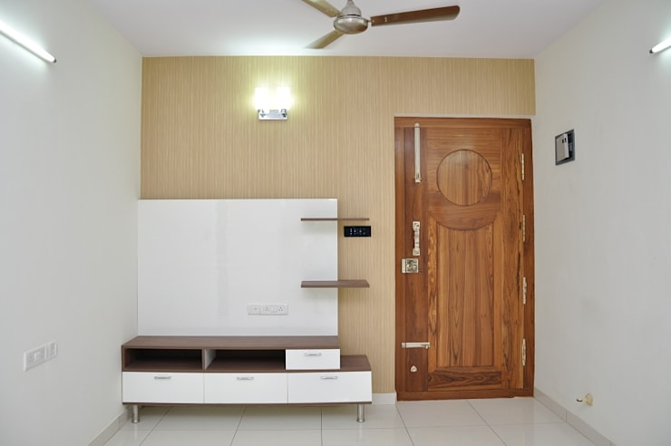 Furniture For Living Room: asian Living room by Scale Inch Pvt. Ltd.