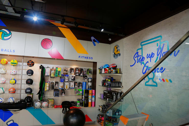 KHEL KART SPORTS STORE :   by KEYSTONE DESIGN STUDIOS