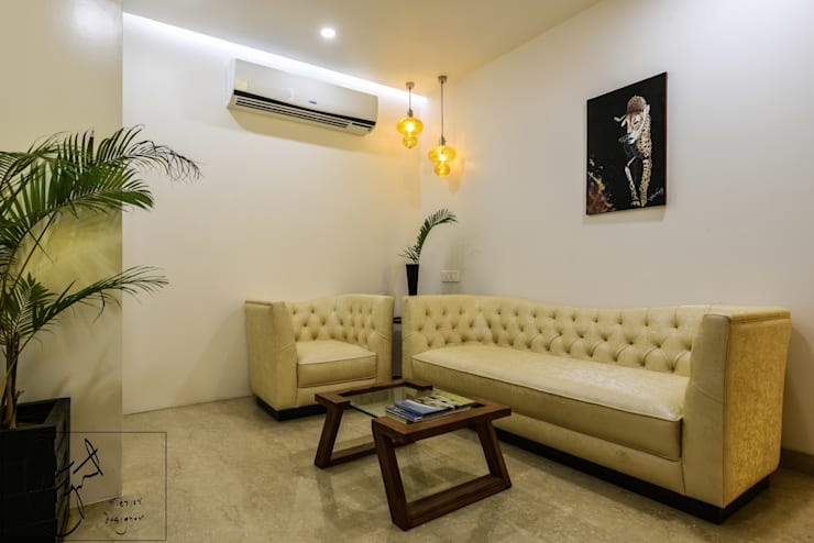 Office Project, Bilaspur:  Office spaces & stores  by ES Designs