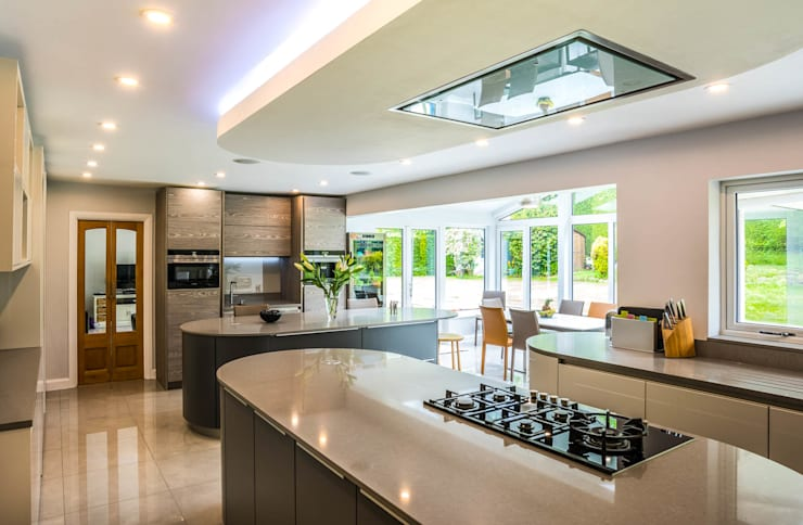 Kitchen/Diner:  Kitchen by James Rowland Photography
