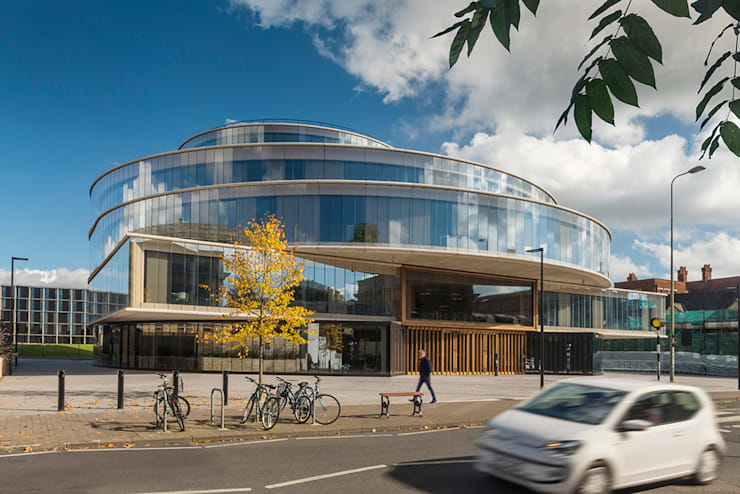 Blavatnik School of Government Building, Oxford:   by James Rowland Photography