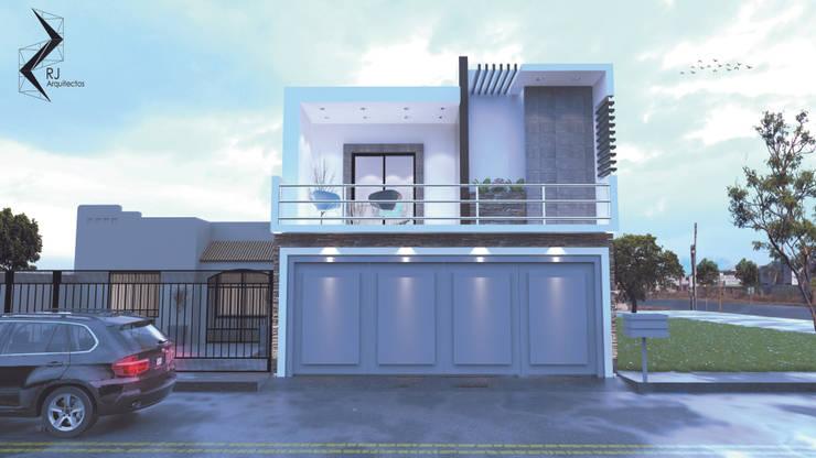 PMS-01: Casas de estilo  por RJ Arquitectos
