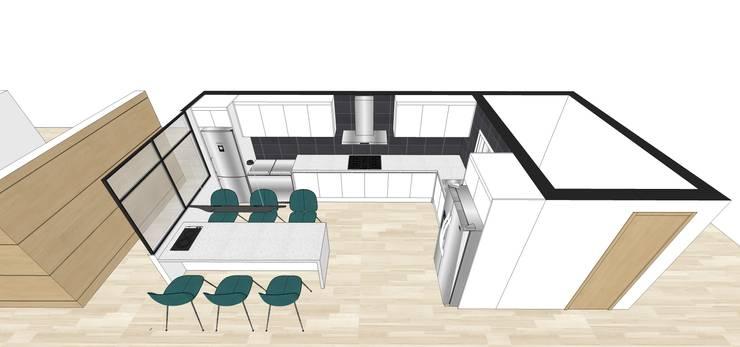 가양동 자이아파트 프로젝트 한디자인 스케치업: 현대리바트의