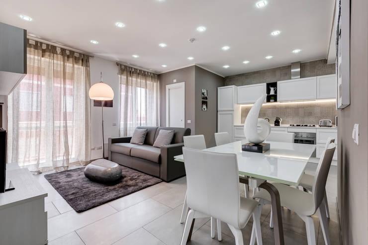 غرفة المعيشة تنفيذ Luca Tranquilli - Fotografo