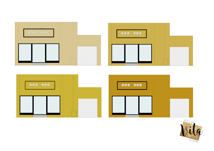 Reforma local comercial: Oficinas y Tiendas de estilo  por Vita Arquitectura e Interiorismo,