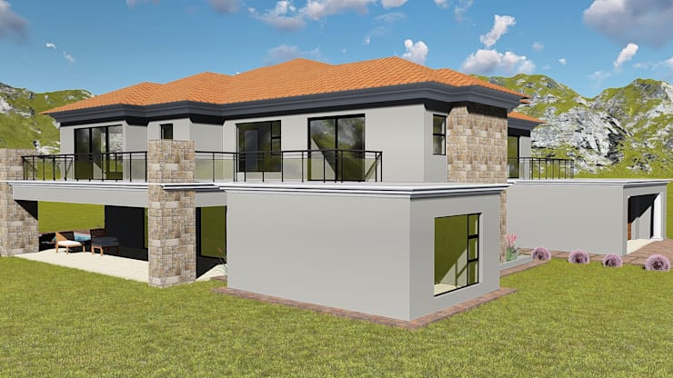 Crystal Park Benoni:  Houses by BlackStructure, Modern