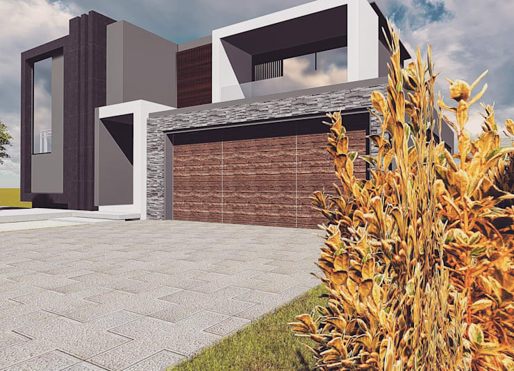 Cressentwood estate Midrand:  Houses by Blackstructure Architects